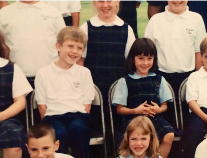 Patrick and Lauren's Second Grade Class Photo 1998
