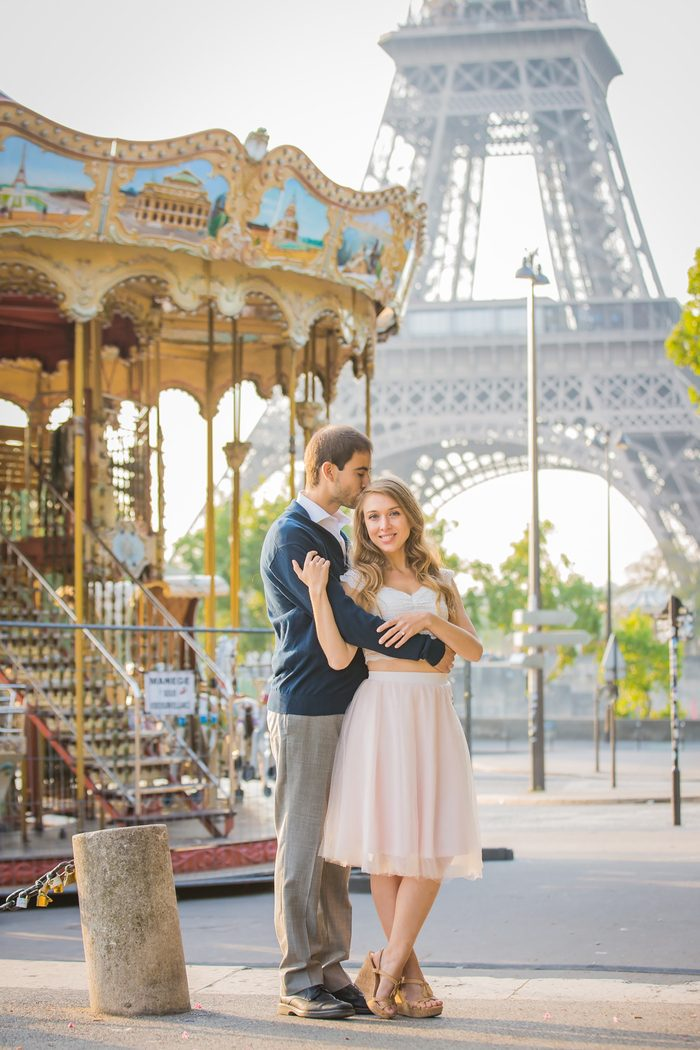 Image 3 of Heather and Martin's Proposal in Paris