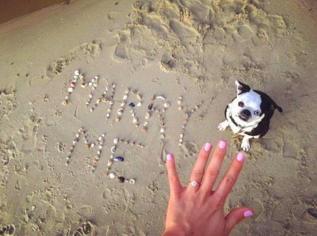 Image 1 of 15 Beach Proposal Ideas: For Your Sandy Marriage Proposal this Summer