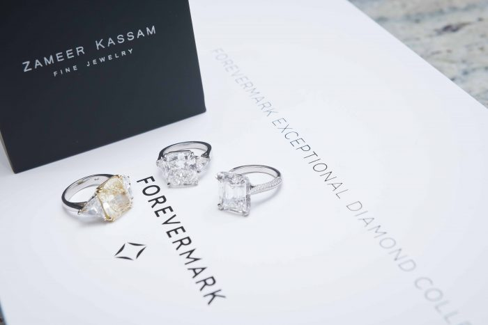 Zameer Kassam engagement rings