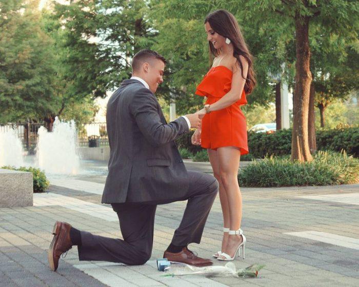 kneeling proposal