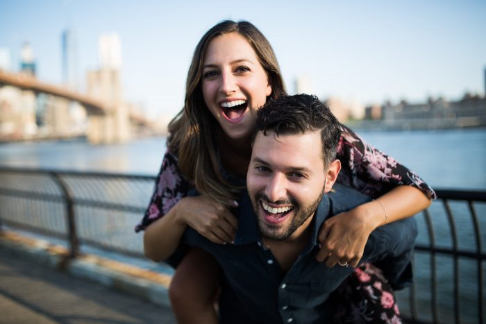 Image 14 of Marisa and Alex's Sunrise Proposal on the Brooklyn Bridge
