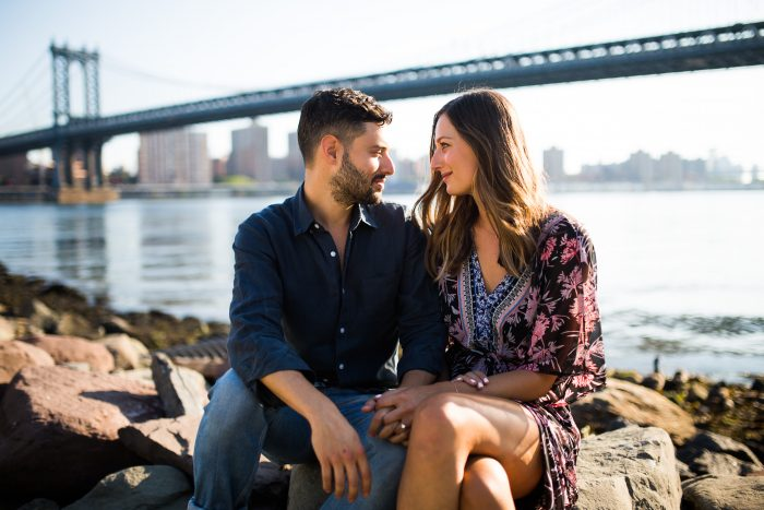 Image 12 of Marisa and Alex's Sunrise Proposal on the Brooklyn Bridge
