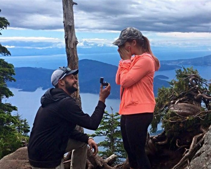 Brittni's Proposal in St Marks Summit, Vancouver