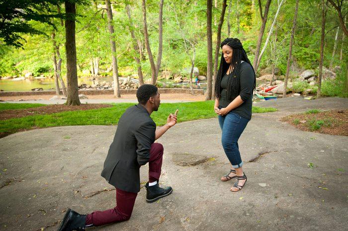 Greenville SC Proposal | Asia & DJ | Noveli Wedding Photography