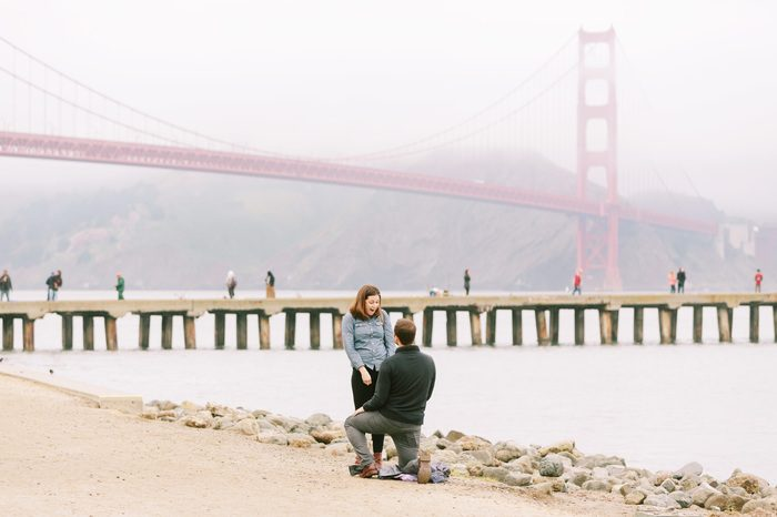 Crissy Field, Golden Gate Bridge | San Francisco Surprise Propos