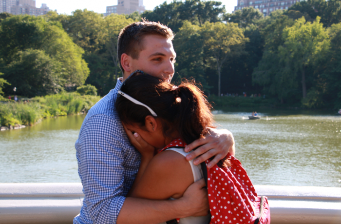 Where to Propose in Bow Bridge Central Park