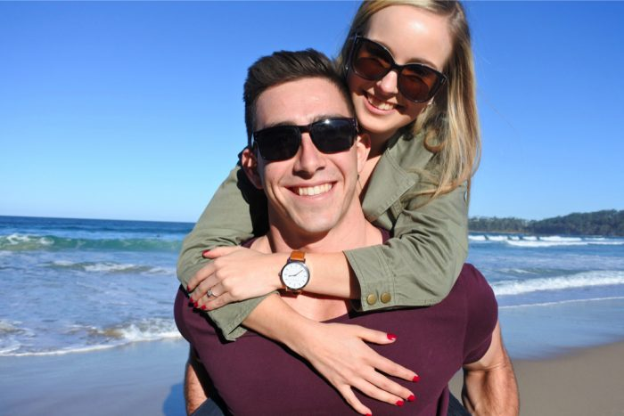 Marriage Proposal on Mollymook Beach 45