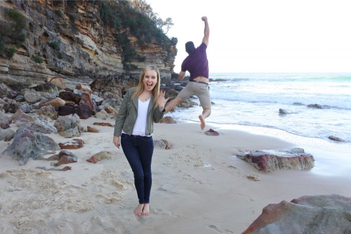 Marriage Proposal on Mollymook Beach 73