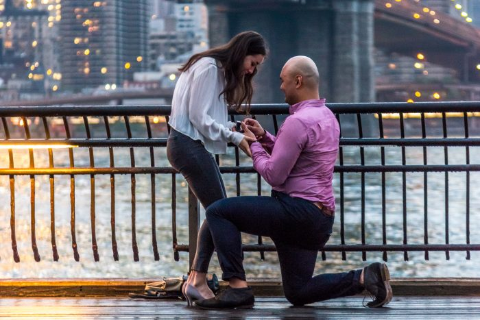 Brooklyn Bridge Marriage Proposal Ideas