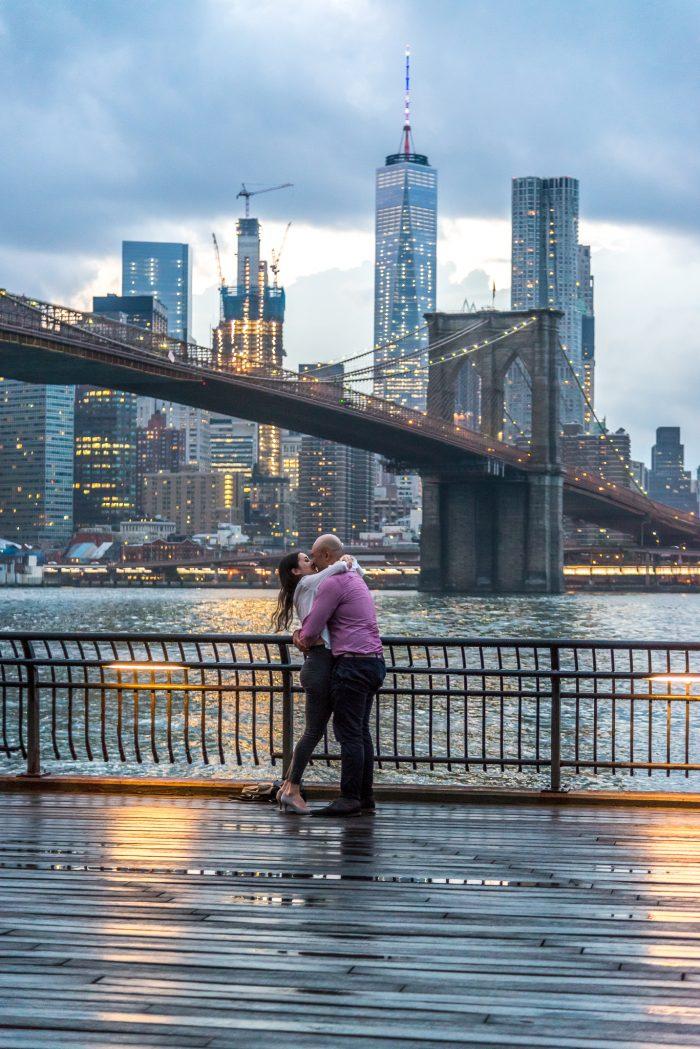 Marriage Proposals at the Brooklyn Bridge