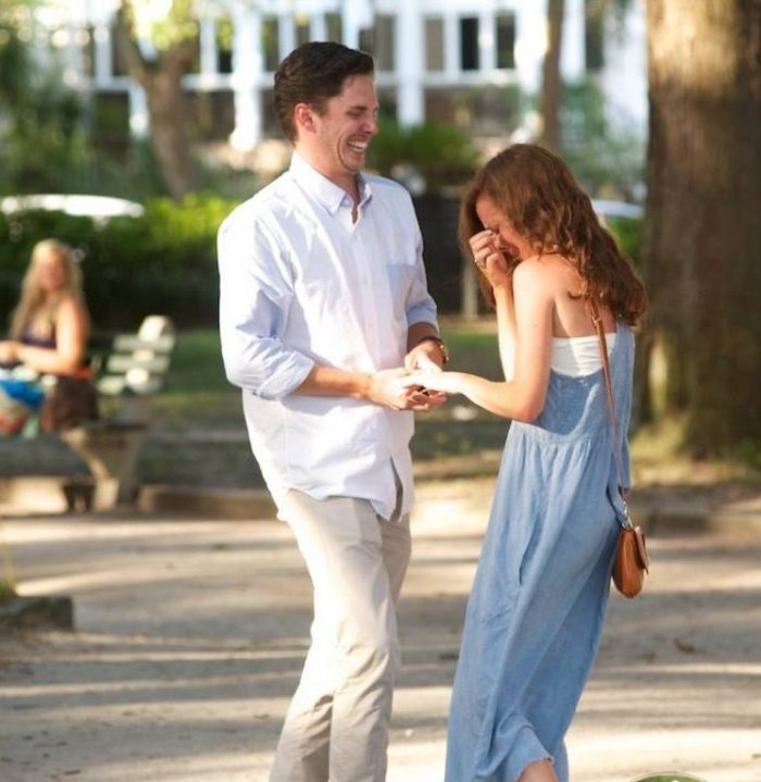 Marriage Proposal Ideas in Charleston South Carolina