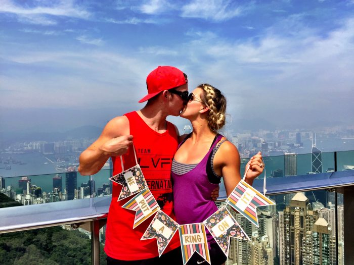 Surprise Marriage Proposal in Hong Kong