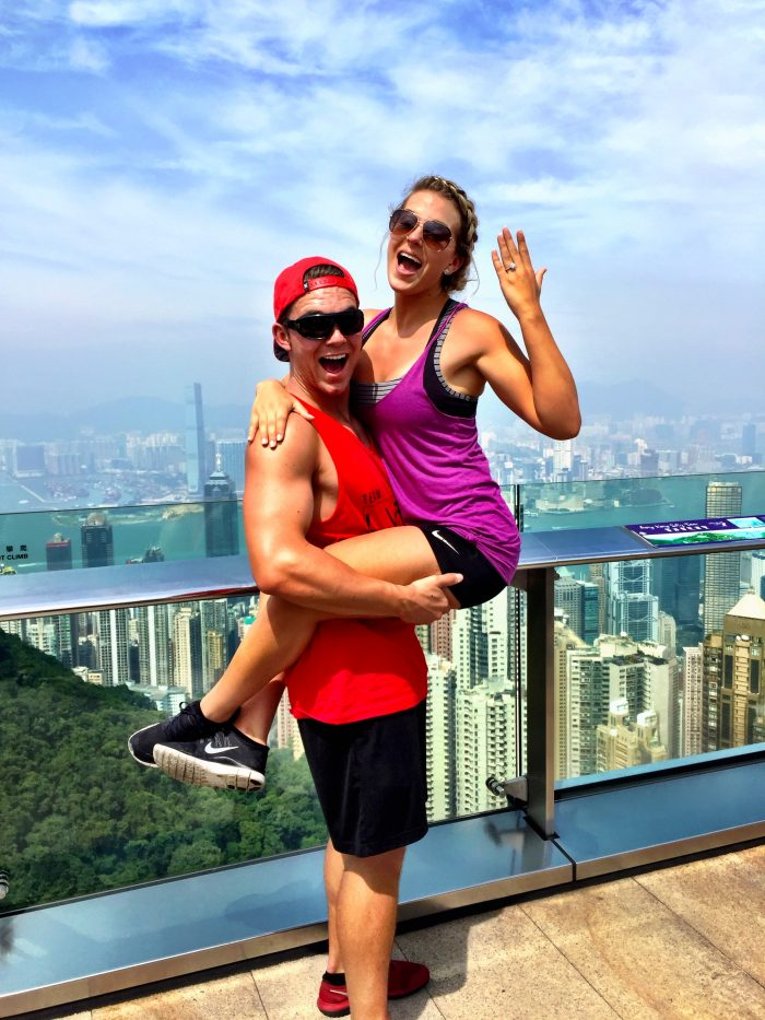 Surprise Marriage Proposal in Hong Kong