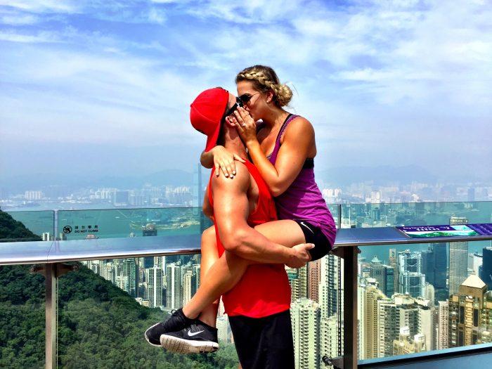 Marriage Proposal in Hong Kong
