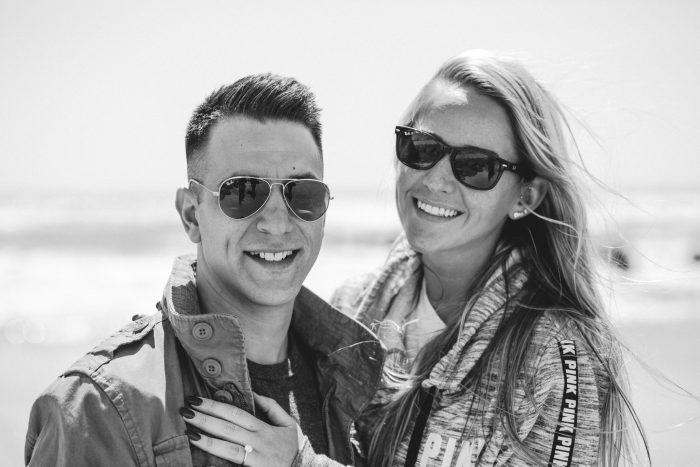 Marriage Proposal in Ocean City