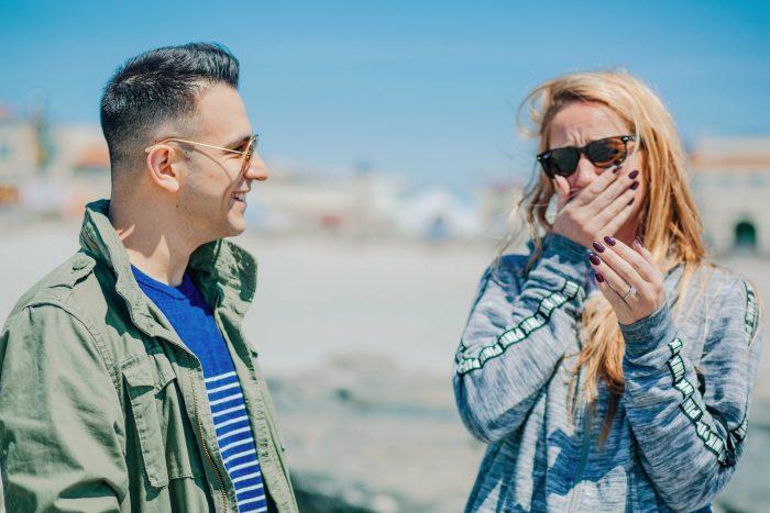 Proposal in Ocean City Jersey