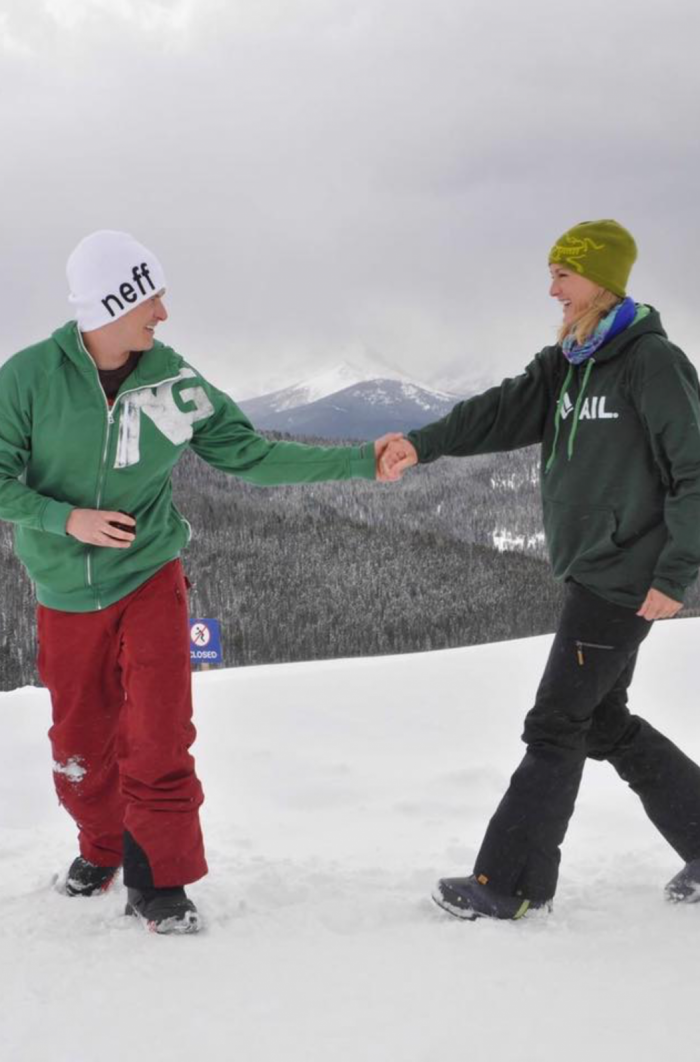Engagement Proposal Ideas in Eagle's Nest at Vail Ski Resort