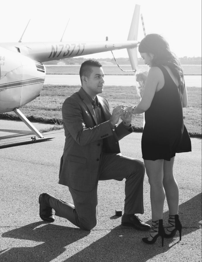 Marriage Proposal Ideas in Downtown Kansas City Airport -
