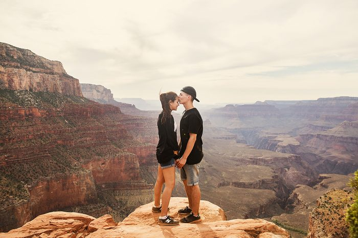 Marriage Proposal in Antelope Canyon