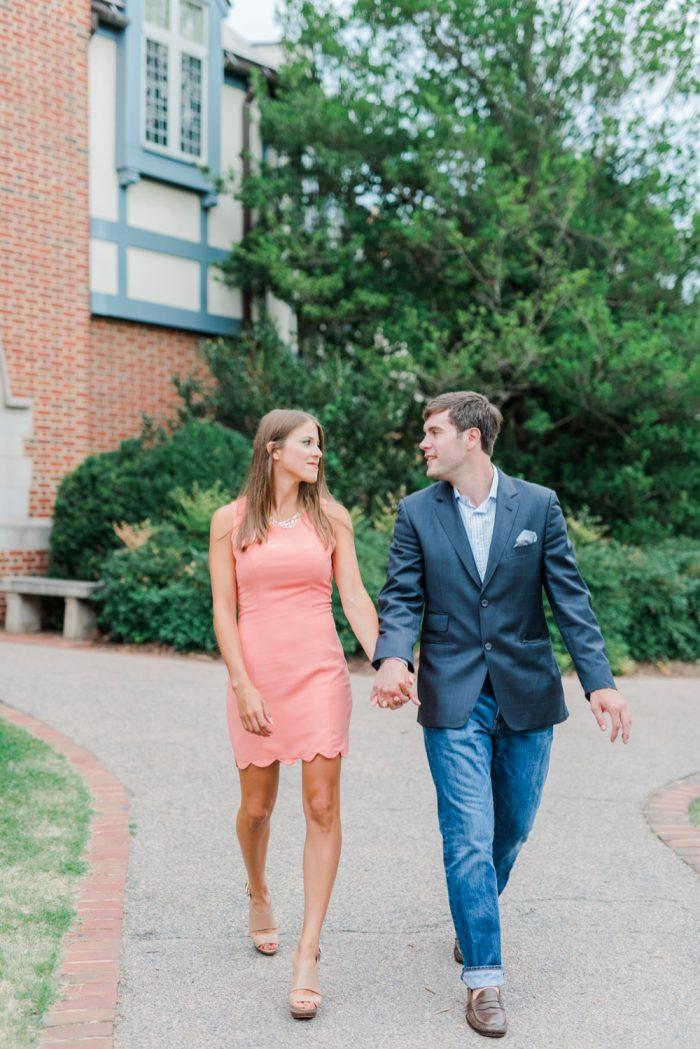 Marriage Proposal at University of Richmond 1