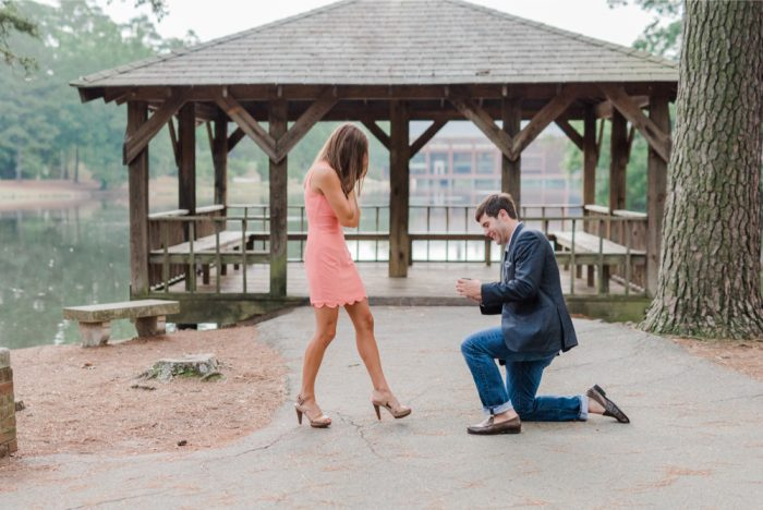 Marriage Proposal at University of Richmond 14