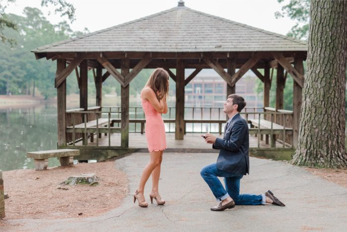 Marriage Proposal at University of Richmond 15