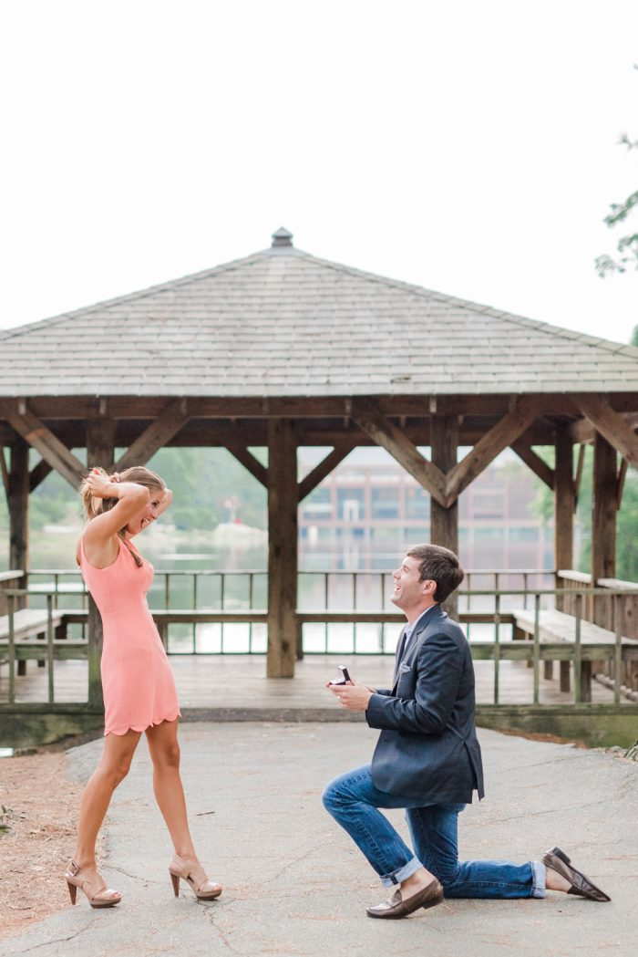 Marriage Proposal at University of Richmond 16