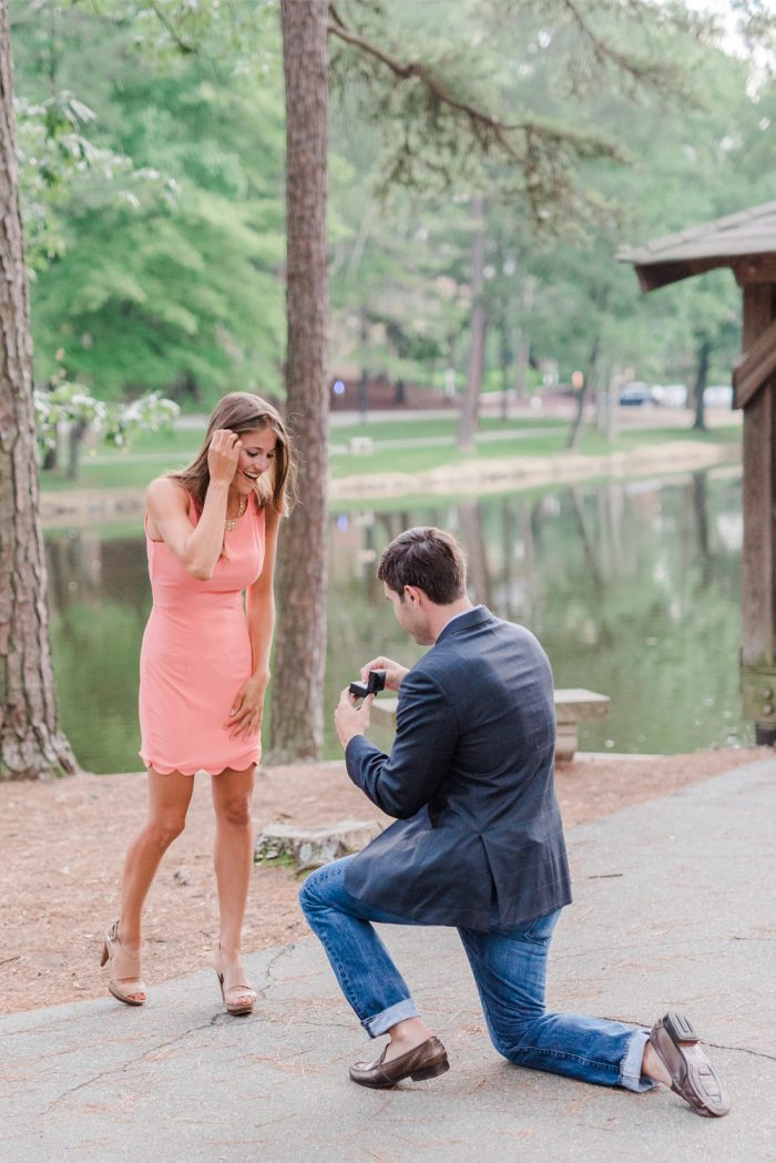 Marriage Proposal at University of Richmond 19