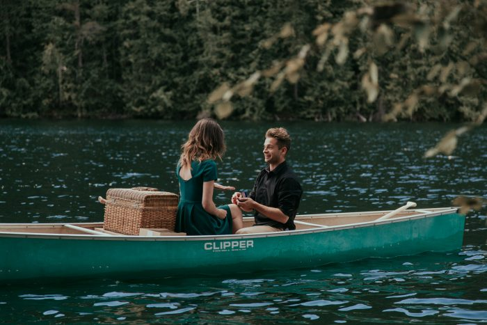 Mountain Lake Canoe Proposal - Tailored Fit Photography-0007
