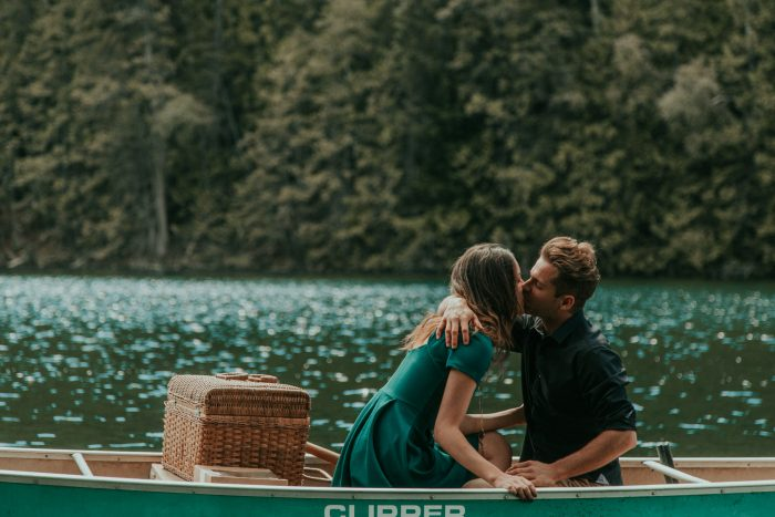 Mountain Lake Canoe Proposal - Tailored Fit Photography-0009