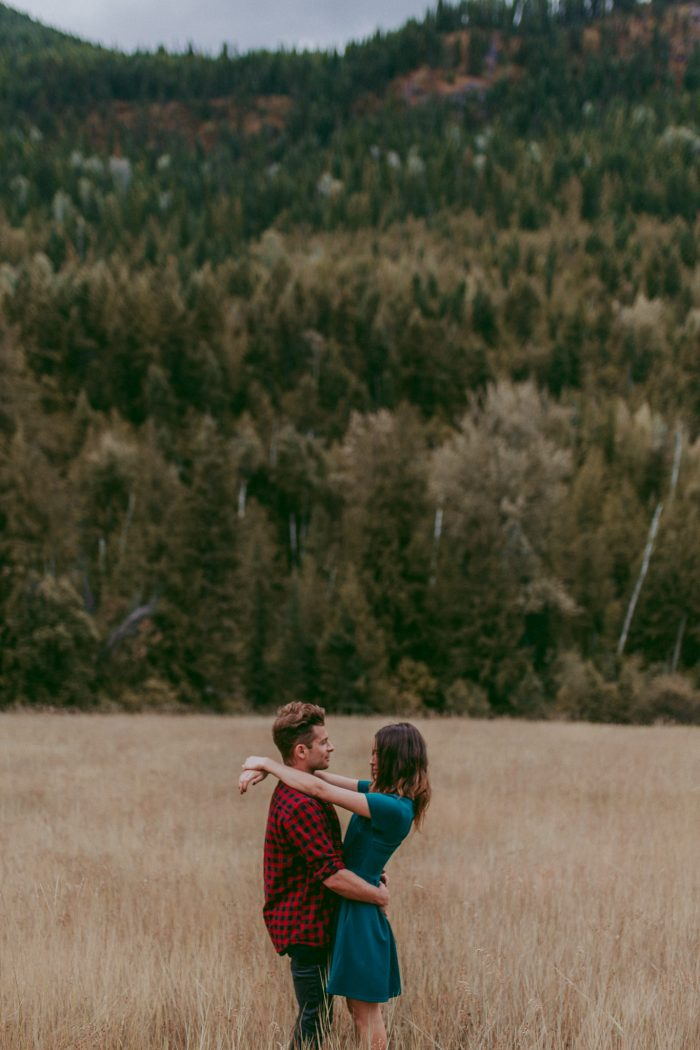 Mountain Lake Canoe Proposal - Tailored Fit Photography-0042