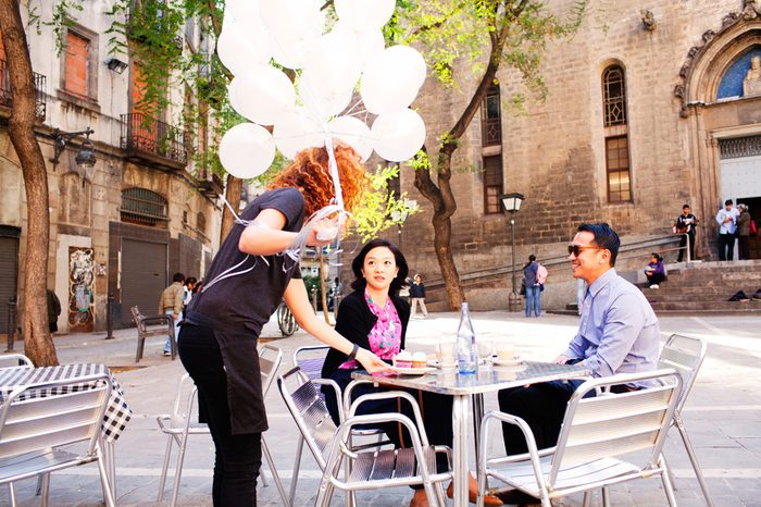 Marriage Proposal in Barcelona