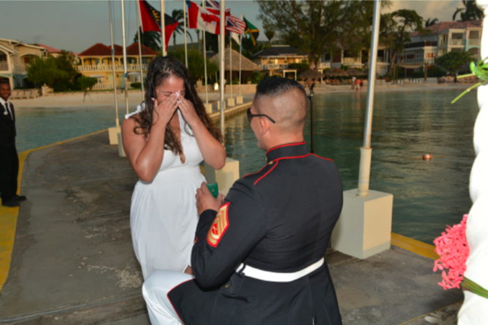 Image 6 of Mike and Petrayris' Honorable Proposal in Montego Bay, Jamaica