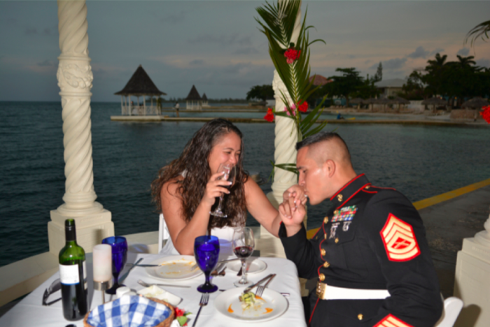 marriage proposal ideas at Sandals Resorts -4