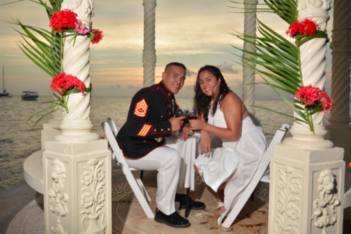 marriage proposal ideas at Sandals Resorts -5