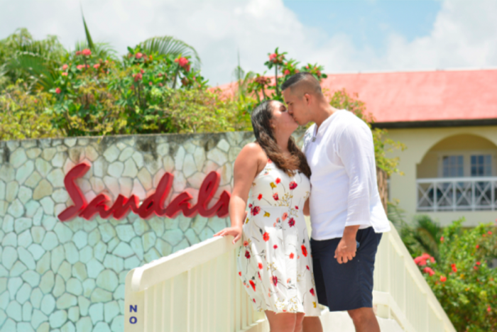 Image 1 of Mike and Petrayris' Honorable Proposal in Montego Bay, Jamaica