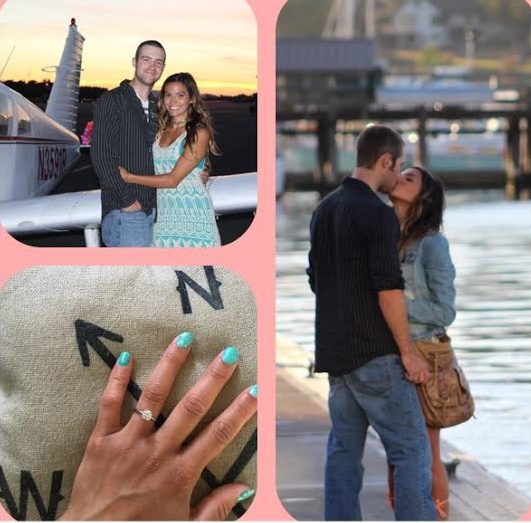 Lysandra and Colby's Engagement in Friday Harbor waterfront