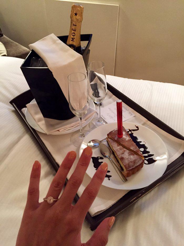 ring w: champagne