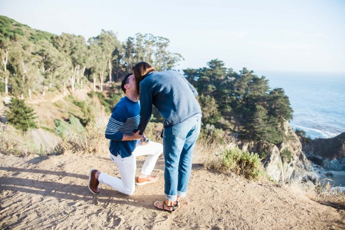 Big Sur Elopement Proposal Photographer Barkis Co