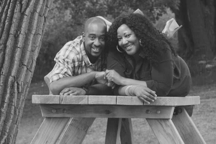 Image 1 of Kenyetta and Christopher