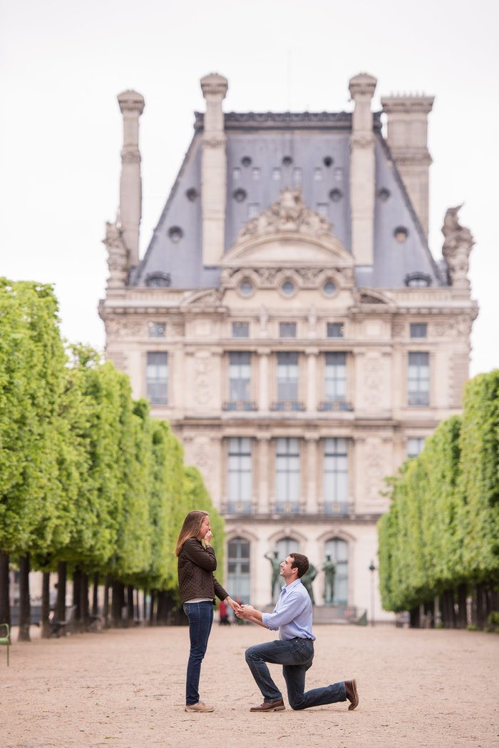 Image 4 of Cameron and Kyle's Proposal in Paris