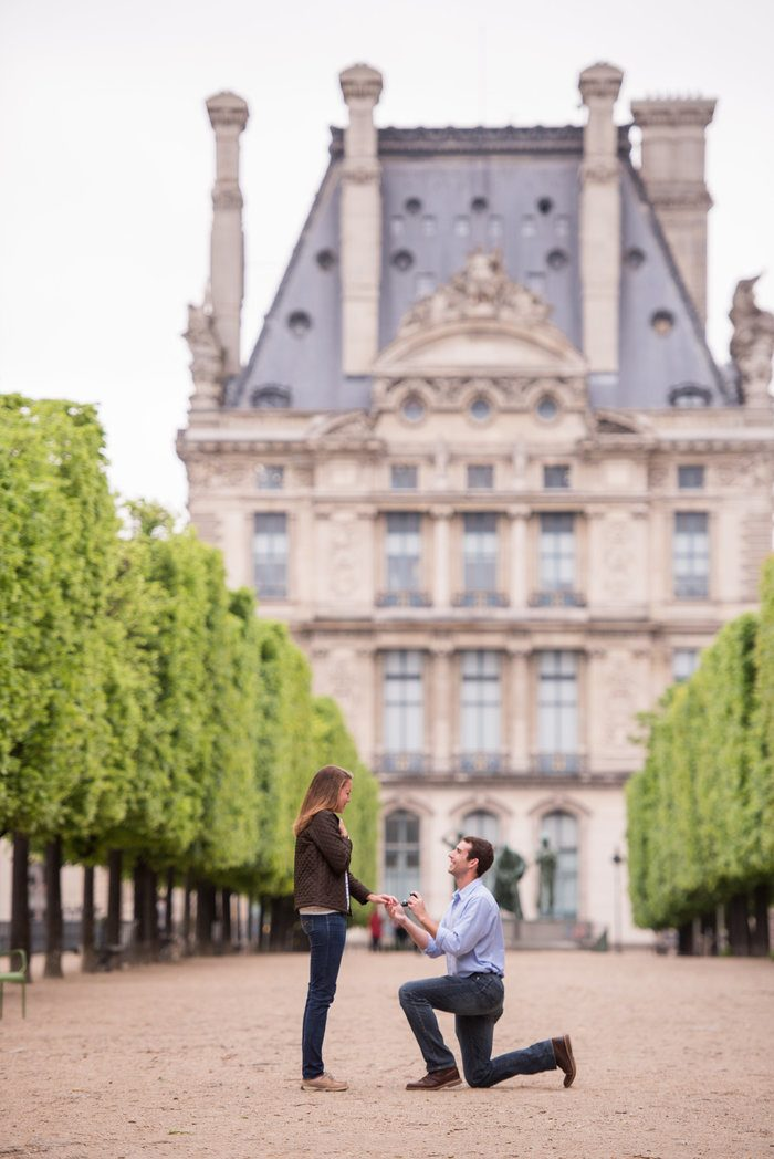 Image 5 of Cameron and Kyle's Proposal in Paris
