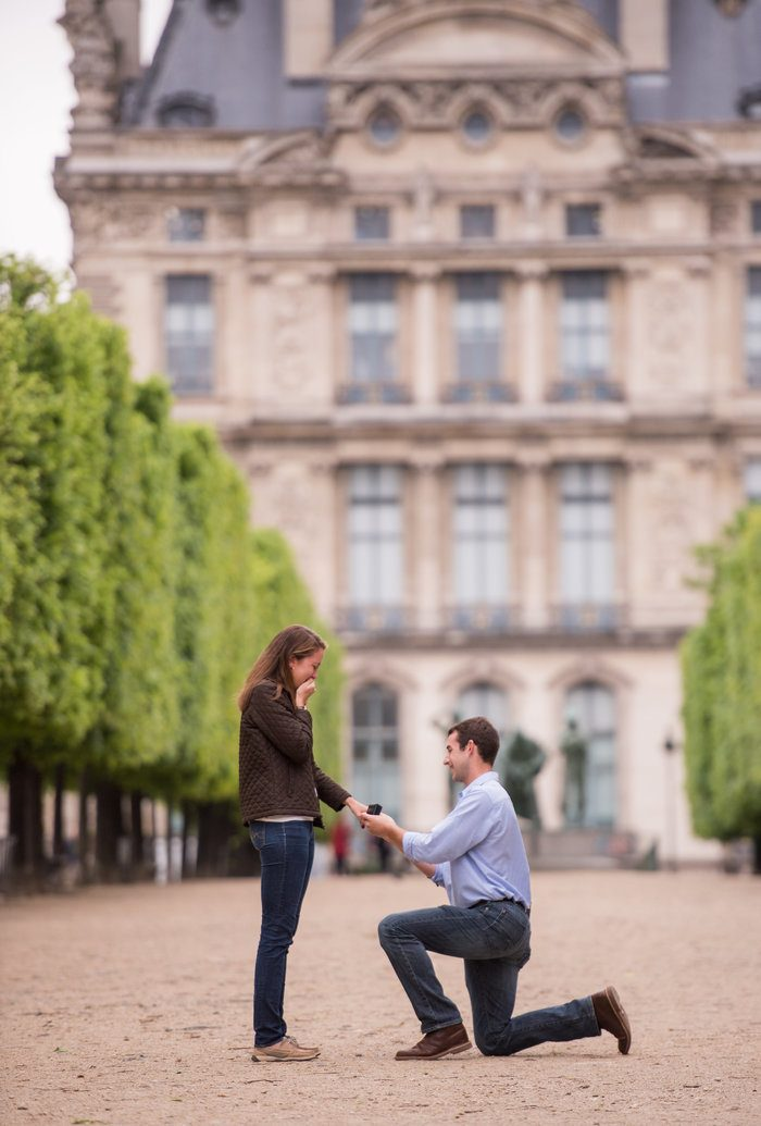 Image 6 of Cameron and Kyle's Proposal in Paris