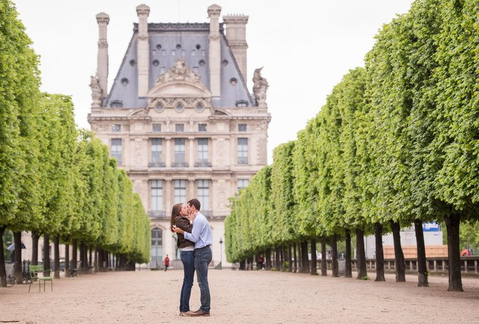 Image 7 of Cameron and Kyle's Proposal in Paris