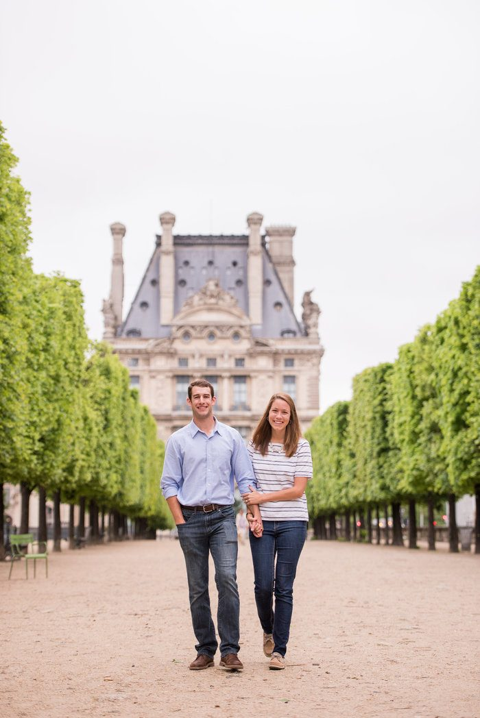Image 1 of Cameron and Kyle's Proposal in Paris