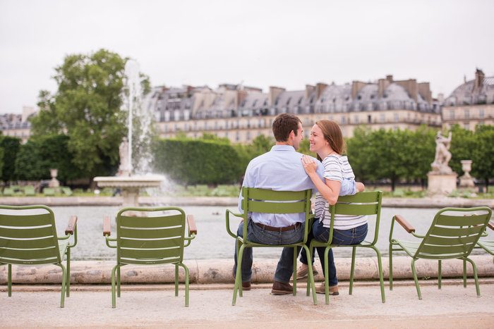 Image 2 of Cameron and Kyle's Proposal in Paris