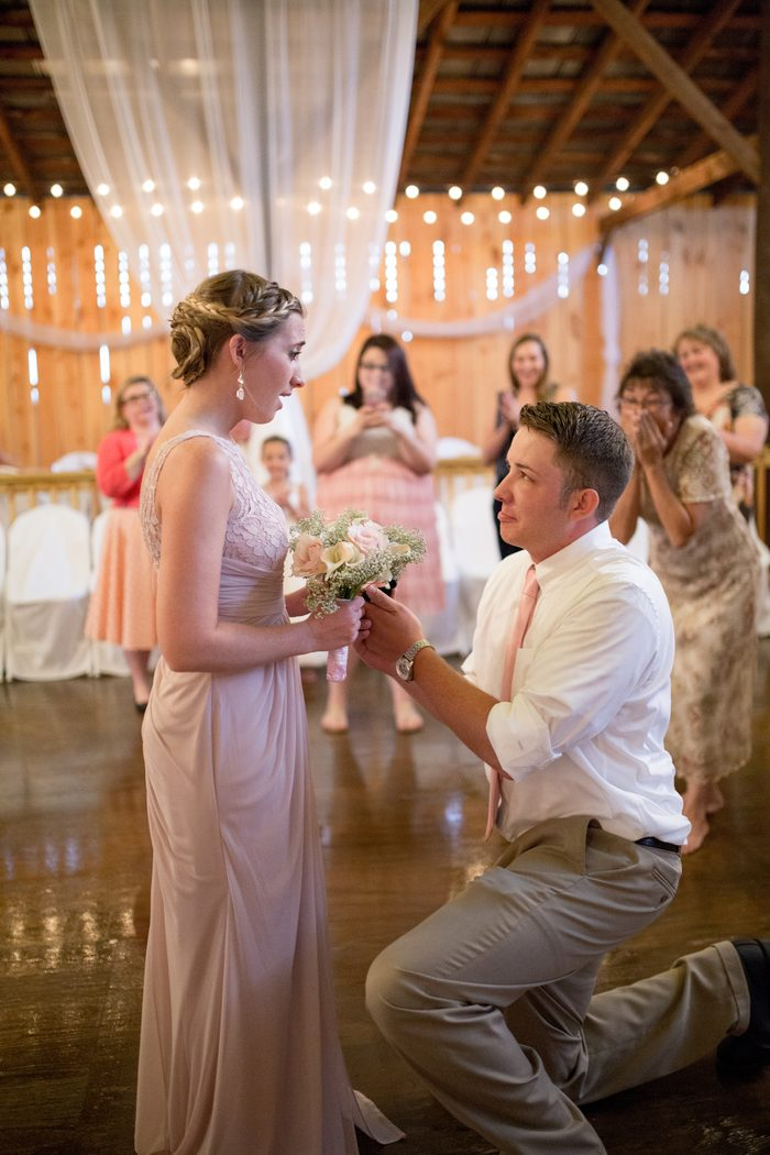 Image 6 of Chance and Courtney's Proposal at Her Best Friend's Wedding
