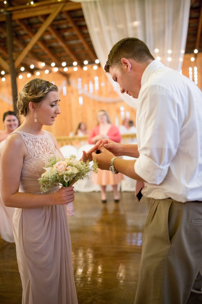 Image 8 of Chance and Courtney's Proposal at Her Best Friend's Wedding