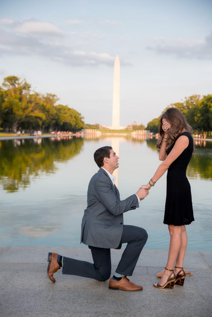 Marriage Proposal The Lincoln Memorial